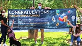 Georgia Tech Helps Tucker Middle School Students Win National Award