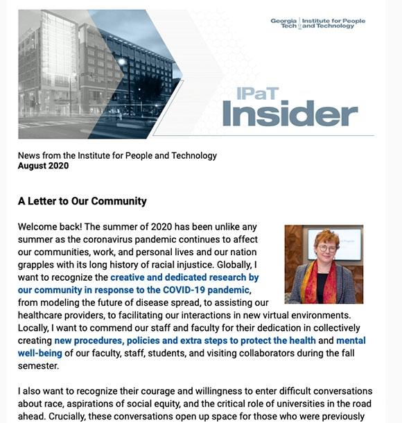 August 2020 Insider Newsletter