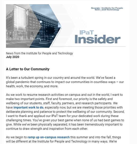 IPaT Insider June-July 2020